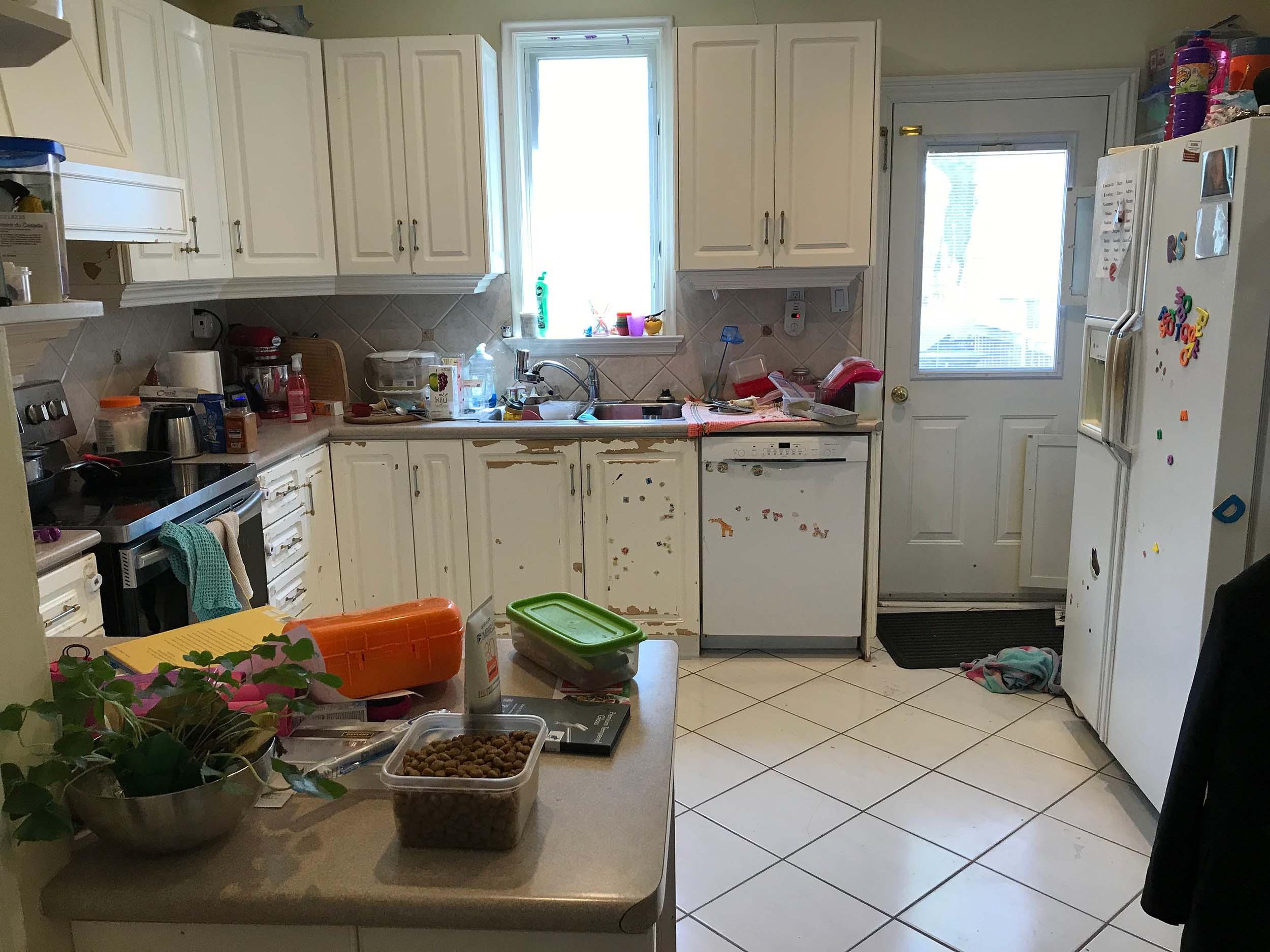 Gowen - Before - Kitchen Cupboards