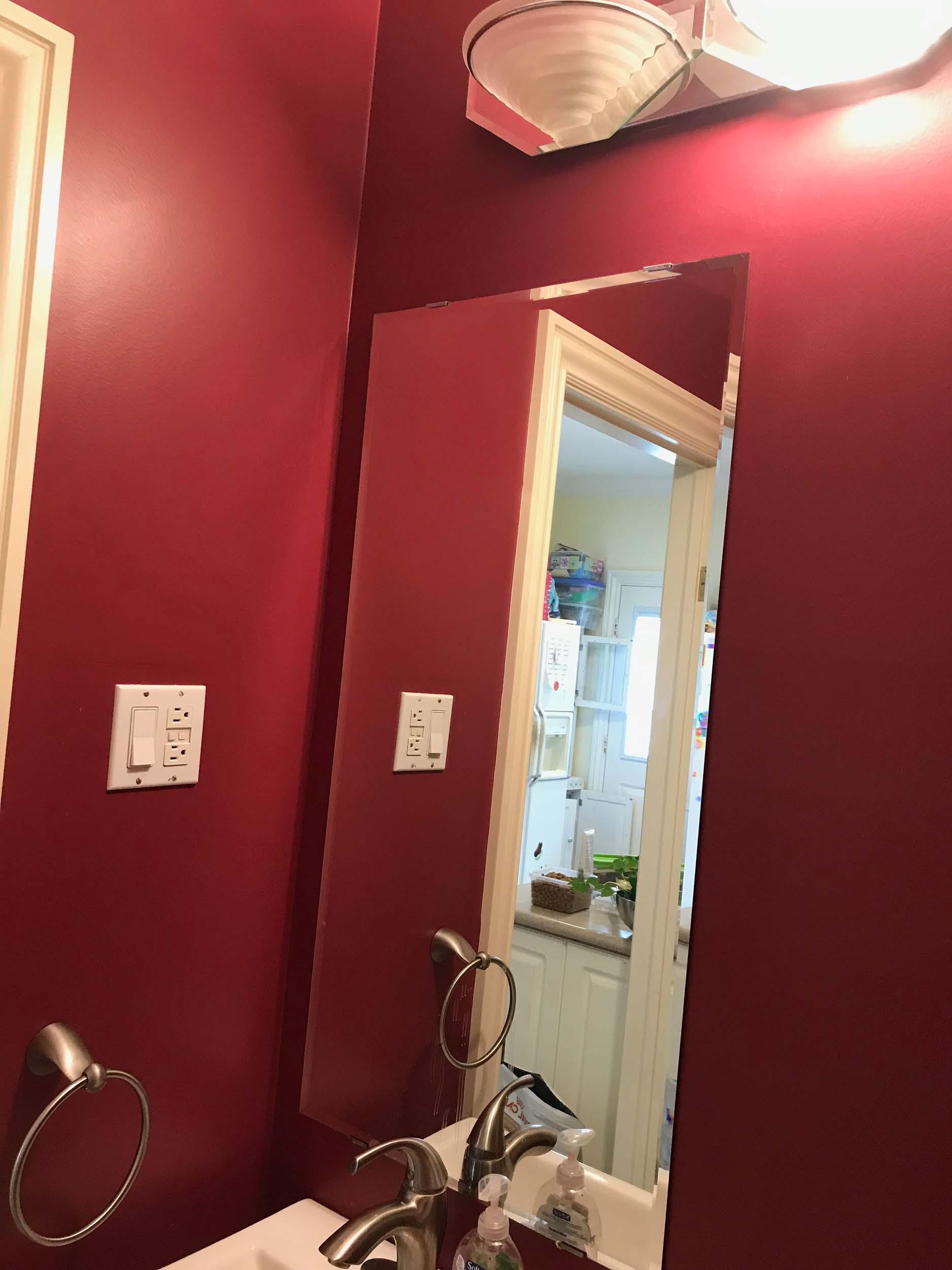Gowen - Before - Bathroom Vanity
