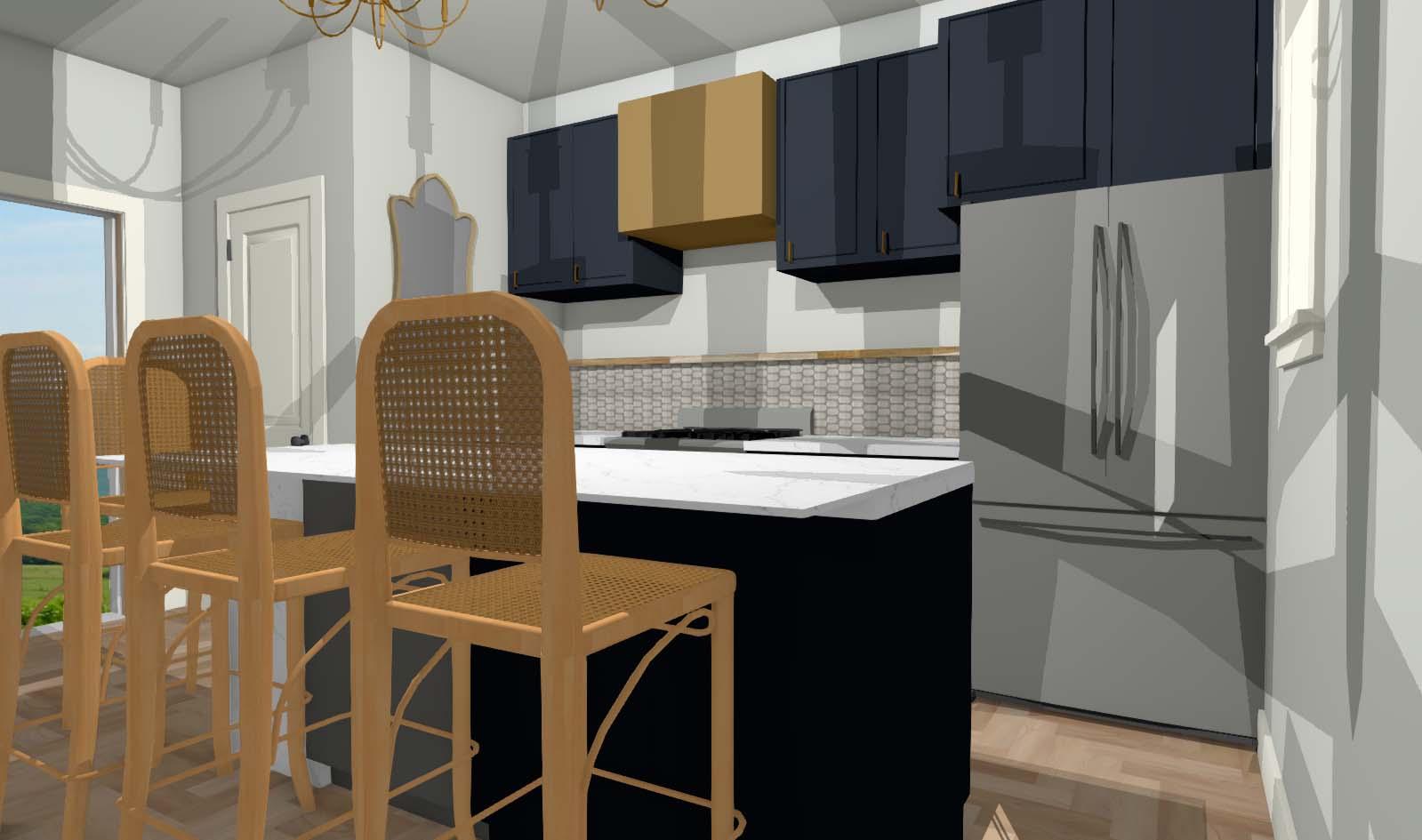 Gowen Kitchen Render